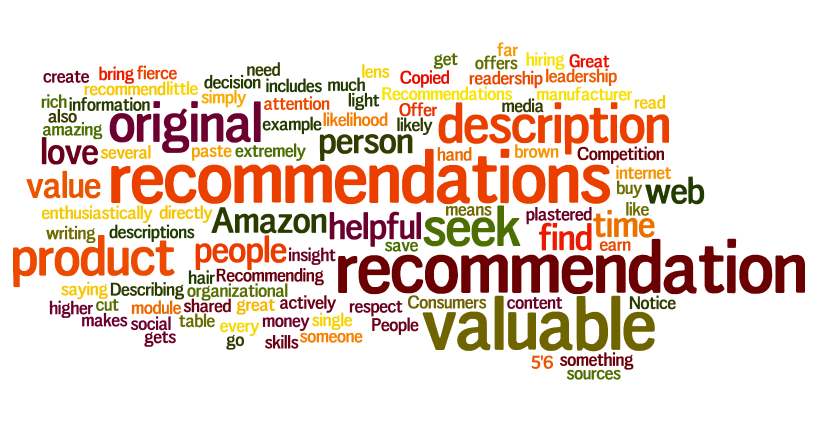 recommendation value